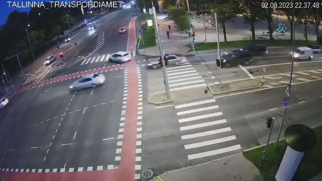 Tallinn, Pärnu maantee - Liivalaia tänav